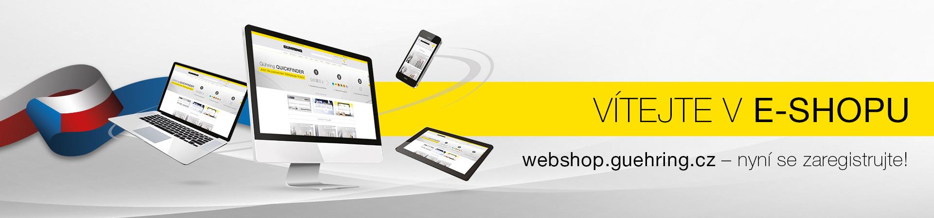 Vítejte v online obchodě společnosti Gühring