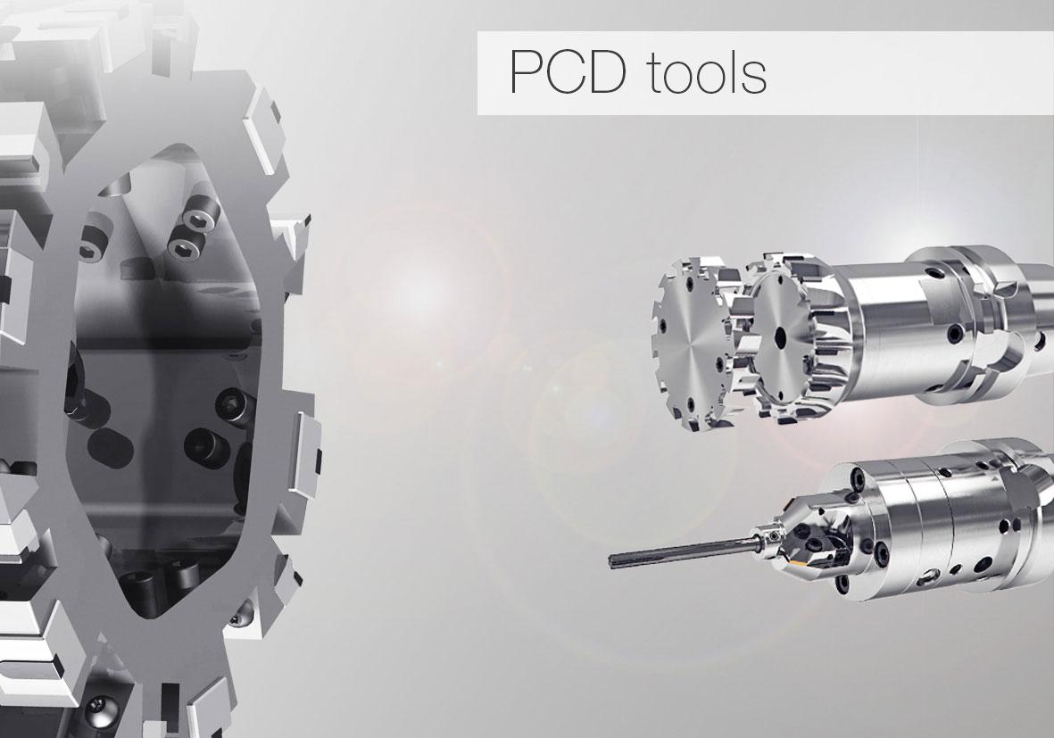 Nástroje s polykrystalickým diamantem PKD